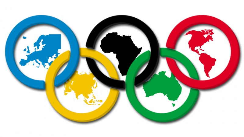 Откуда кольца на Олимпийских Играх.
