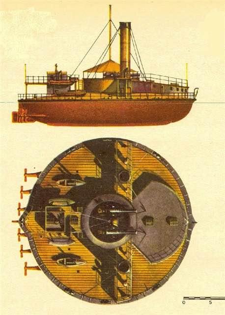 Как в русском флоте появились круглые корабли «поповки» 2