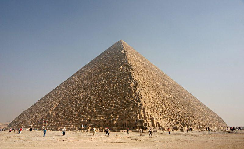 Интересные факты о пирамиде Хеопса.