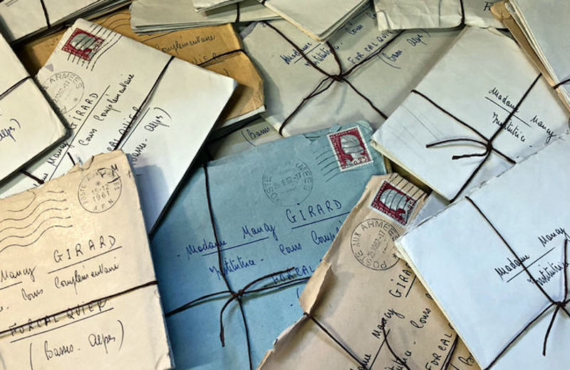 Потерянные письма.