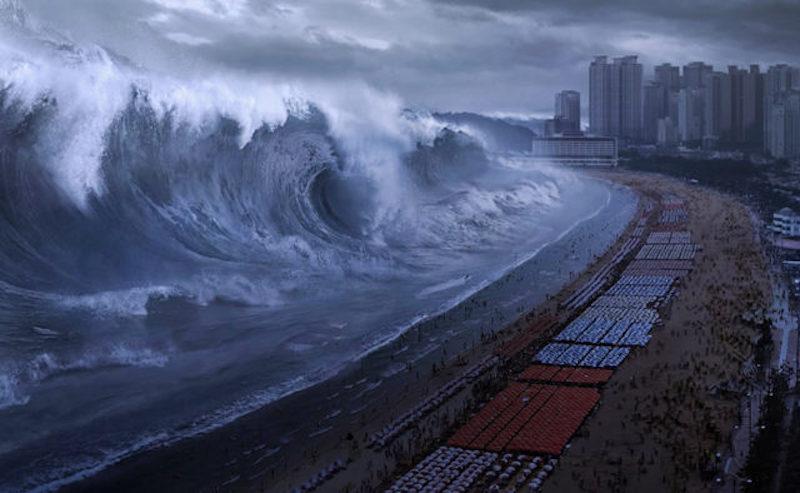 Интересные факты о цунами.