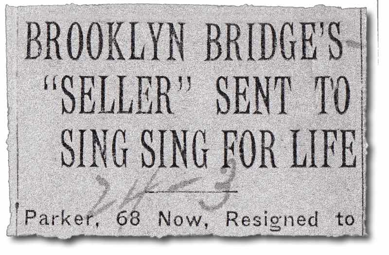 Мошенник продал Бруклинский мост.
