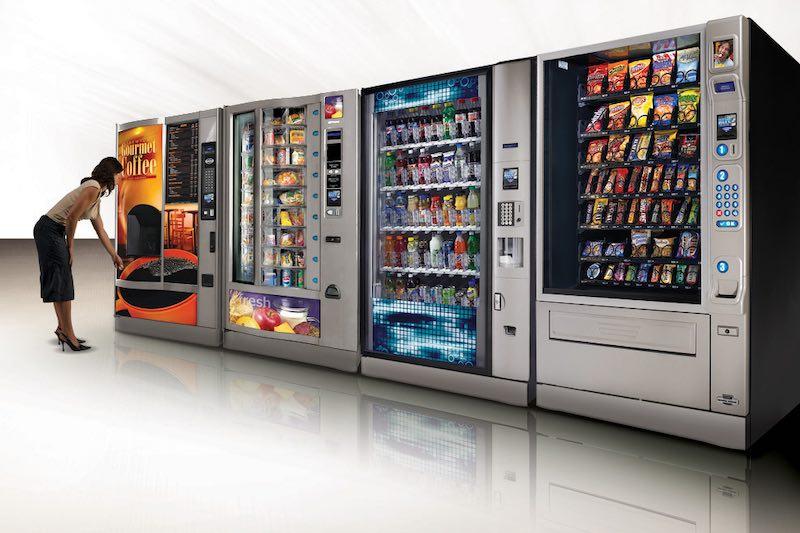 Интересные факты о торговых автоматах.