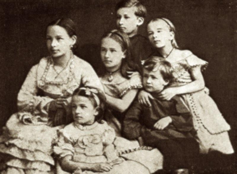 Дети Пушкина.