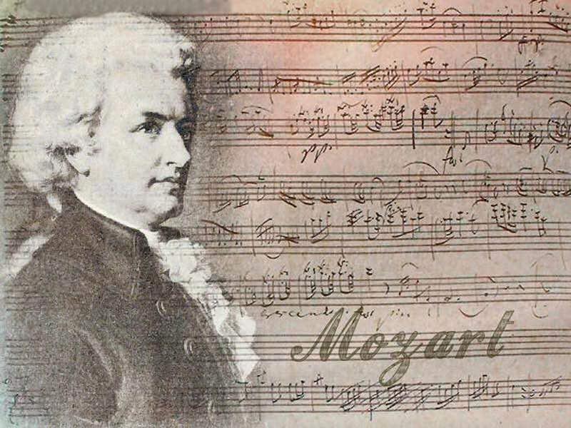 Интересные факты о Моцарте.