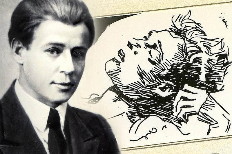 Стихотворение Маяковского на смерть Сергея Есенина.
