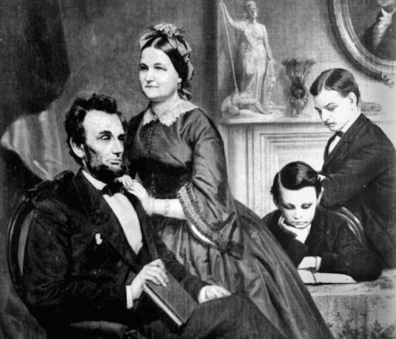 Жена Авраама Линкольна  и первая леди США была психически нездорова