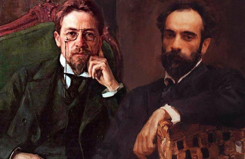 Дуэль Левитана и Чехова.