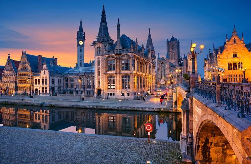 Интересные факты о Бельгии.