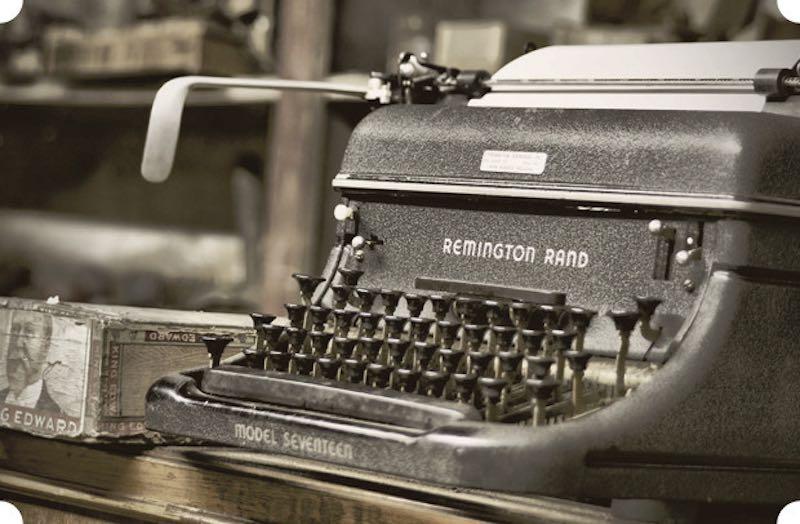 Интересные факты о печатной машинке.