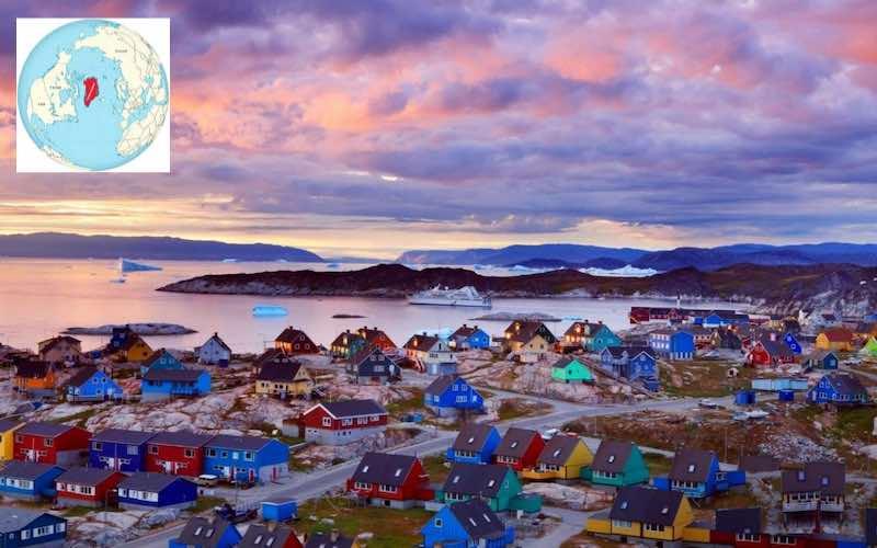 Интересные факты о Гренландии.