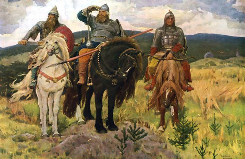 "Интересные факты о картине Васнецова ""Богатыри""."