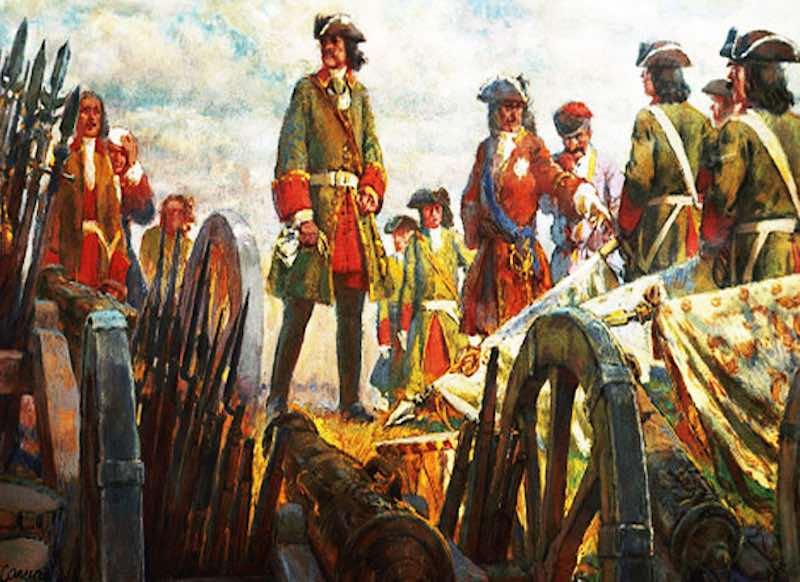 Прутский поход Петра I.