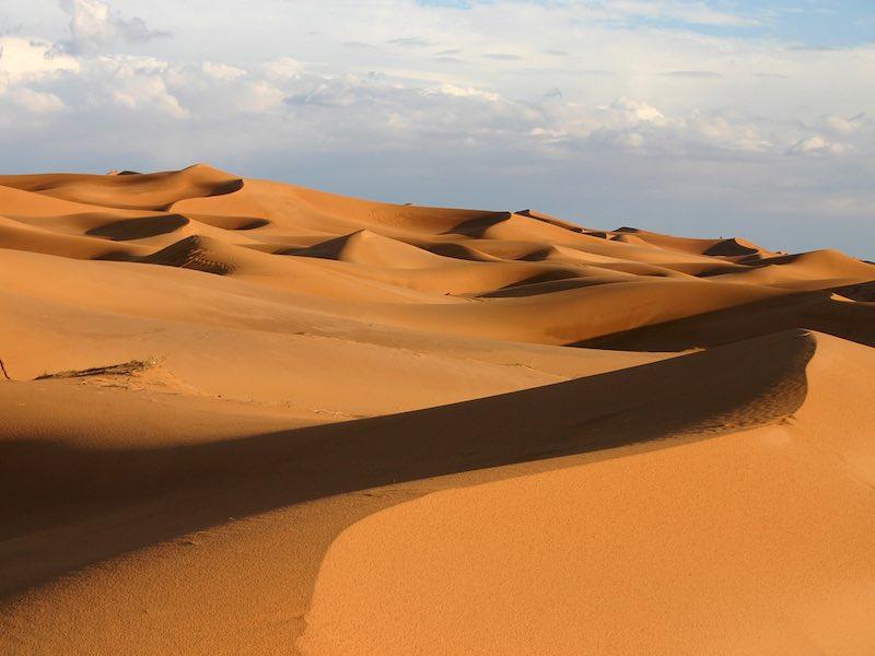 Интересные факты о пустынях.