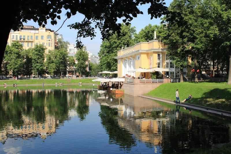 Интересные факты о прудах Москвы.