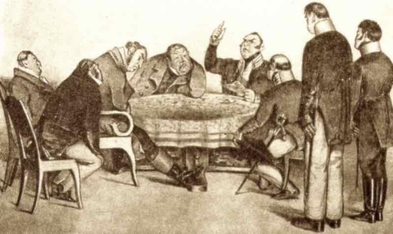 """""""Ревизор"""" - бессмертная комедия Гоголя."""