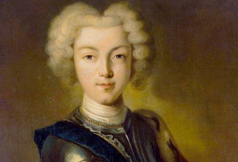 Юный император Петр Второй.