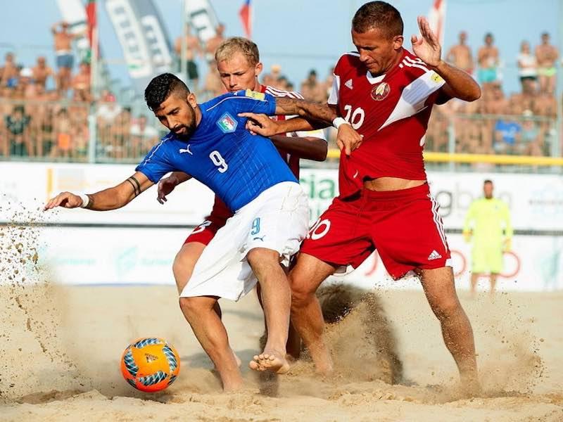 Интересные факты о пляжном футболе.