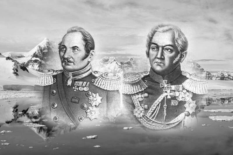 Как русские мореплаватели открыли Антарктиду.