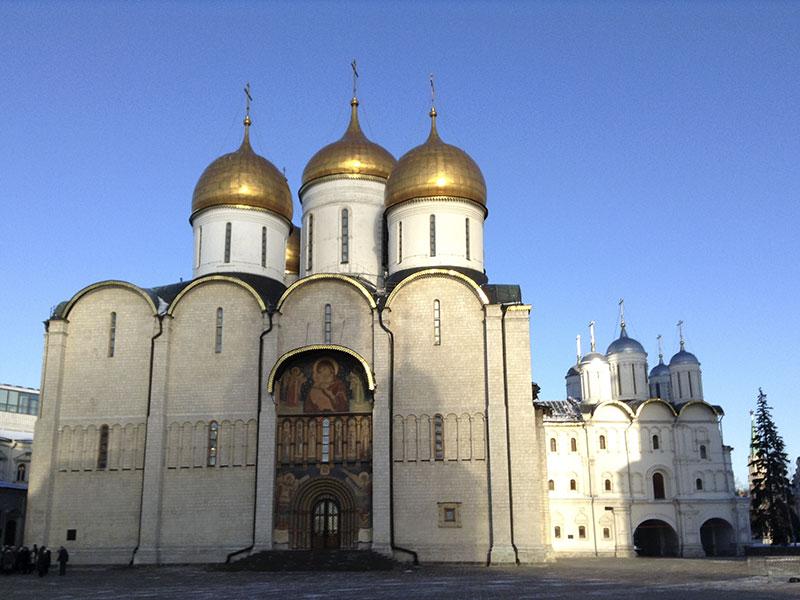 Успенский собор - главный храм Московского Кремля