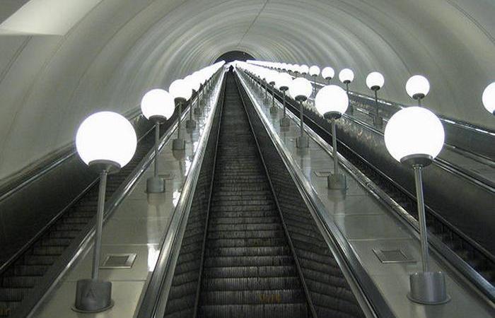 Интересные факты об эскалаторе