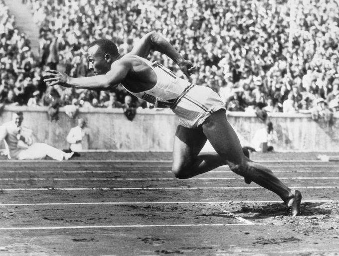 """Джесси Оуэнс - спортсмен, которого называли """"Черная молния"""""""