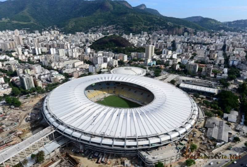 """Маракана"" - легендарный бразильский стадион"