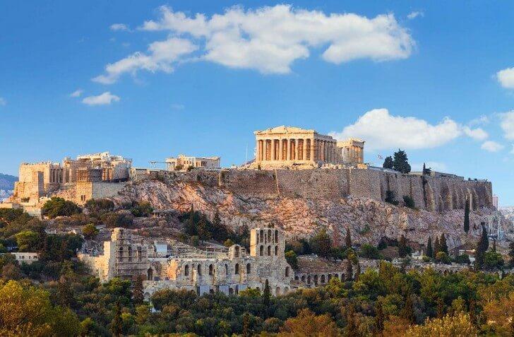 Интересные факты об Афинах