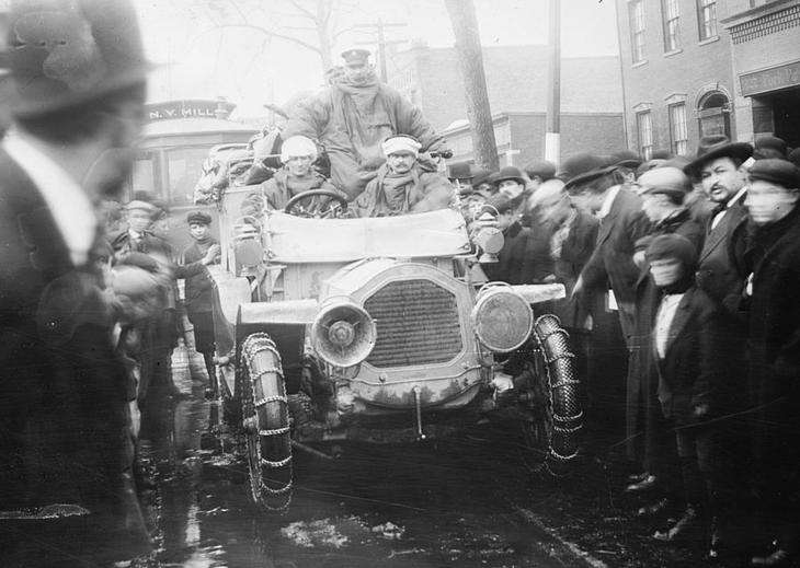 Когда состоялся первый межконтинентальный автопробег