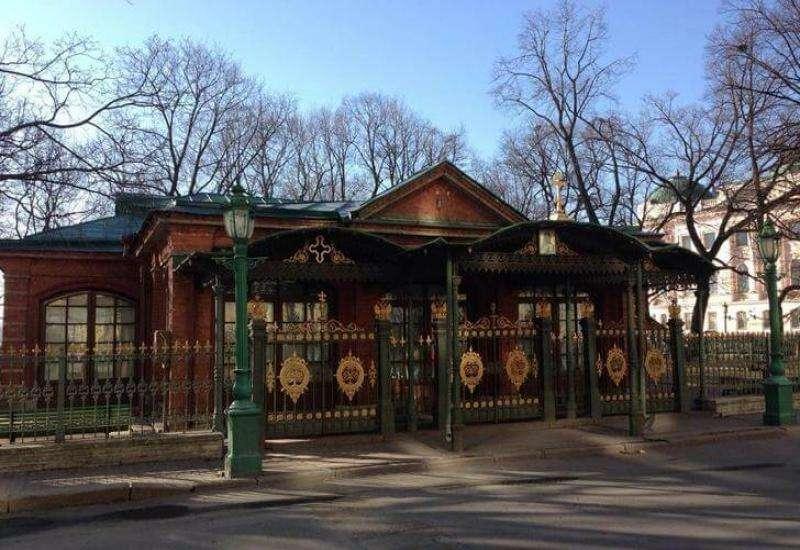 Домик Петра Первого - старейшее здание Санкт-Петербурга